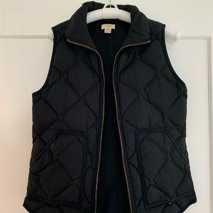 JCrew Black Vest Size XXS